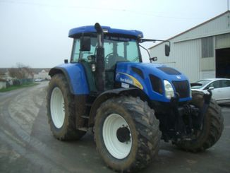 Tracteur agricole New Holland T7550ELITE - 5