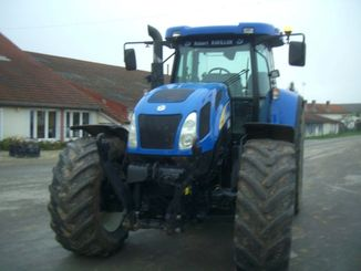 Tracteur agricole New Holland T7550ELITE - 4