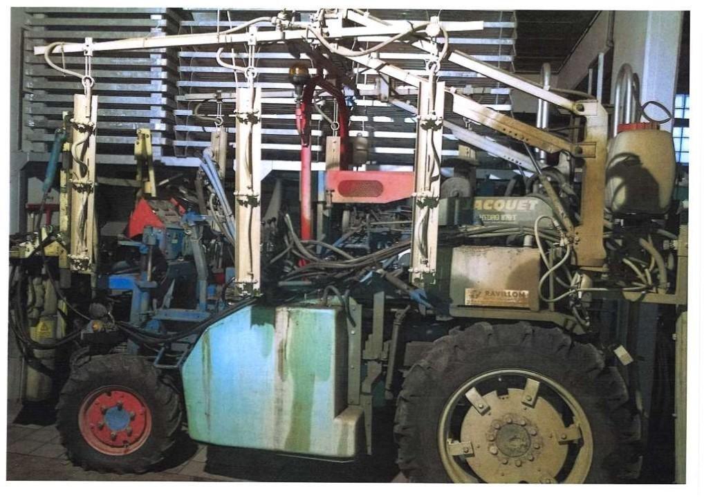 tracteur enjambeur jacquet 870t  u00e0 vendre sur ravillon