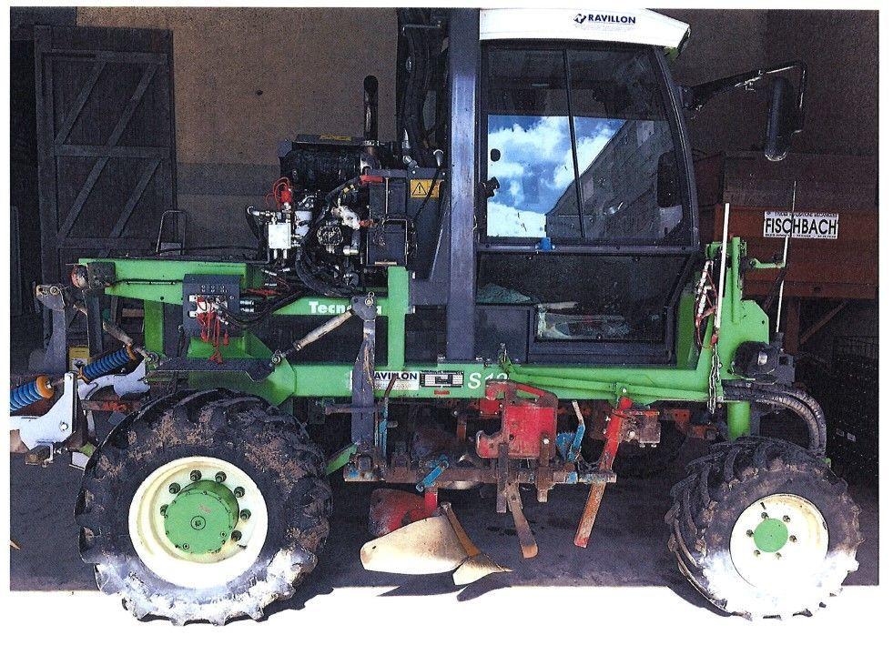 tracteur enjambeur tecnoma s120h  u00e0 vendre sur ravillon