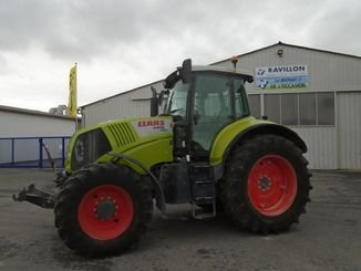 Tracteur agricole Claas AXION810 - 1