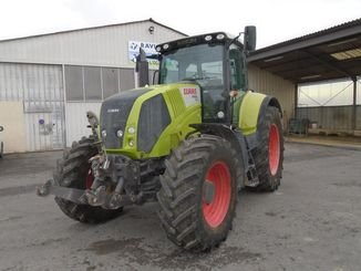 Tracteur agricole Claas AXION810 - 2