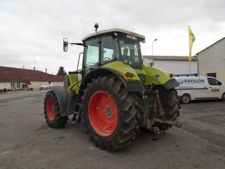 Tracteur agricole Claas AXION810 - 4