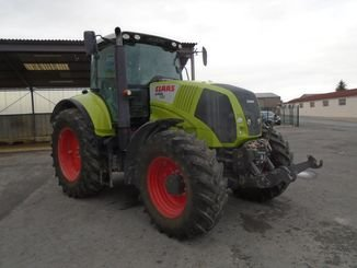 Tracteur agricole Claas AXION810 - 9
