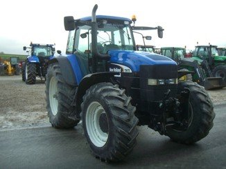 Tracteur agricole New Holland TM175 - 4