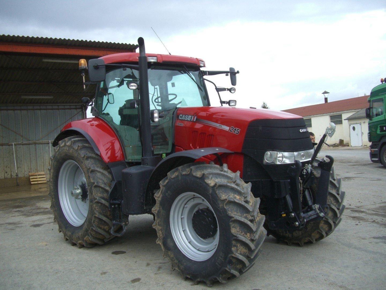 Tracteur agricole case ih puma215mcele vendre sur ravillon for Case agricole