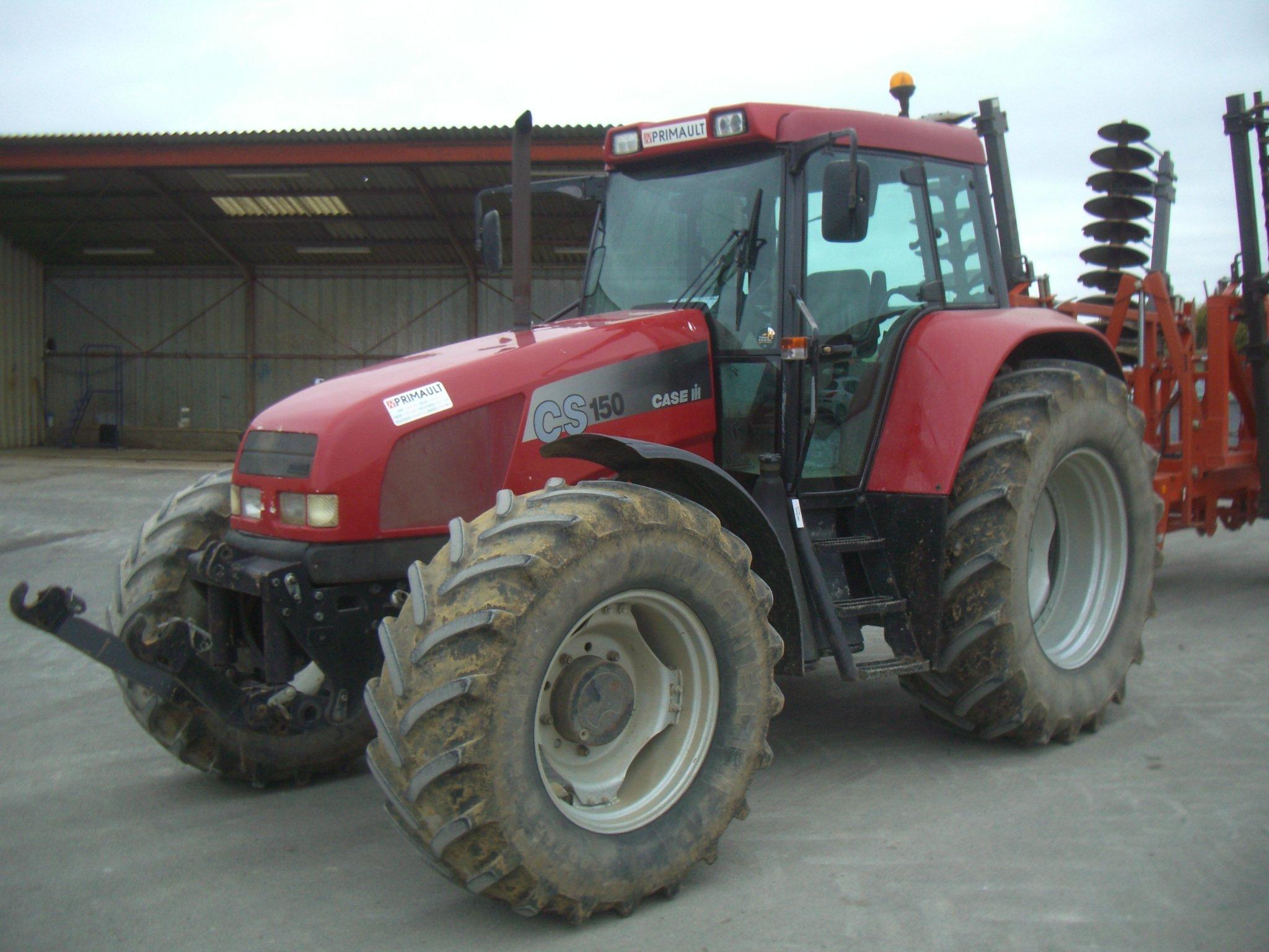 Tracteur agricole case ih cs150 vendre sur ravillon for Case agricole